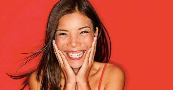 告白された時に受け入れる場合2:最高の笑顔で!「超うれしい」
