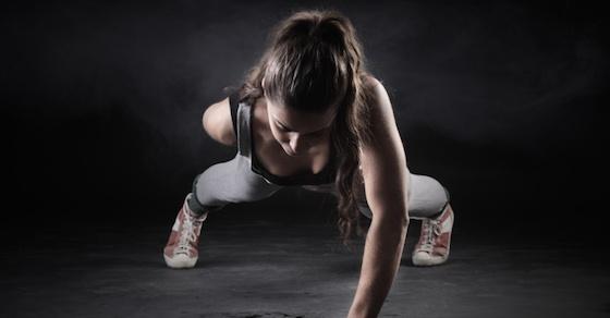 腕立て伏せの正しいやり方と効果1:腕立て伏せの効果