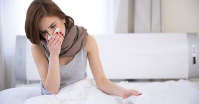 咳、喉の痛みは性病の可能性あり。口、喉に感染する性病について