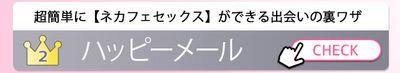 PANPAN認定<br>2位「超簡単に【ネカフェセックス】ができる出会いの裏ワザ」ハッピーメール
