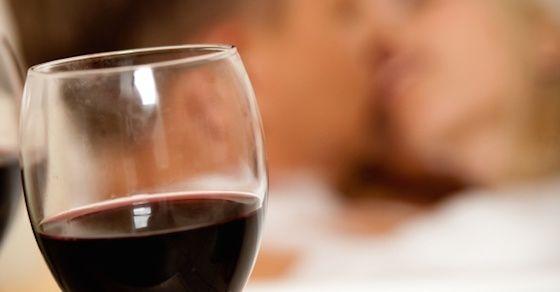 リラックスできる飲み物を用意する