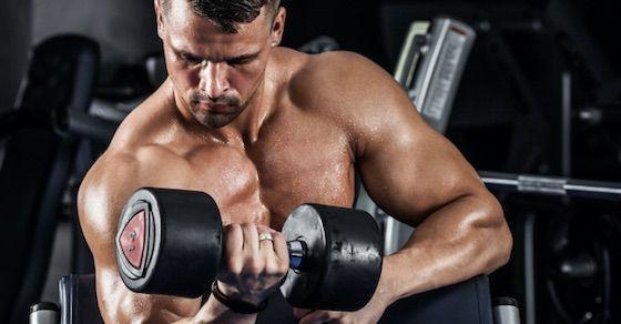 オナニーをやめれば効果的な筋トレができる理由①:テストステロン値が上がる
