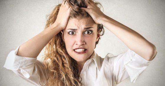 マン臭がとてつもなく強い女性の特徴⑦ストレスが多い日常