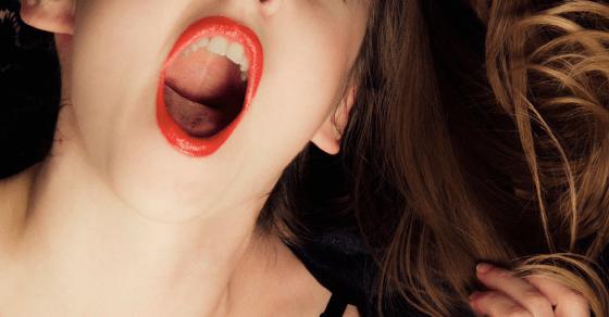 喋っているときとは違う声質の、喘ぎ声