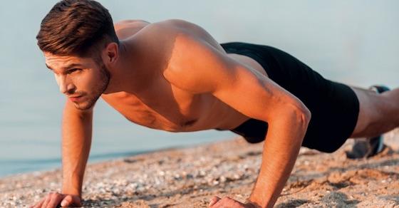胸・肩・腕・背中の筋肉を鍛える腕立て伏せのやり方【部位別・動画】